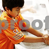 Beck Diefenbach  -  bdiefenbach@daily-chronicle.com<br /> <br /> Second grader William Butterfield washes his hands before lunch at Kingston Elementary School in Kingston, Ill., on Friday Aug. 21, 2009.