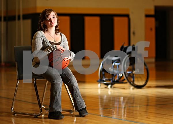Beck Diefenbach  -  bdiefenbach@daily-chronicle.com<br /> <br /> Sycamore High School junior Randi Reingardt.