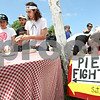 Beck Diefenbach  -  bdiefenbach@daily-chronicle.com<br /> <br /> People register for the world's largest pie fight in Genoa, Ill., on Saturday June 13, 2009. Over 200 people participated.
