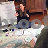 Beck Diefenbach  -  bdiefenbach@daily-chronicle.com<br /> <br /> Susan Booker leads her natural childbirth class Birthing Naturally with two couples in the living room of her Waterman, Ill., home on Friday Jan. 9, 2009.
