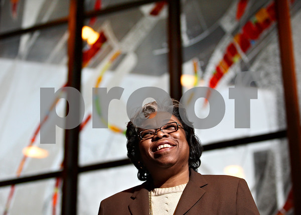 Beck Diefenbach  -  bdiefenbach@daily-chronicle.com<br /> <br /> Rev. Harlene Harden, of Sycamore United Methodist Church, has a ticket for the President-elect Barack Obama's inauguration.