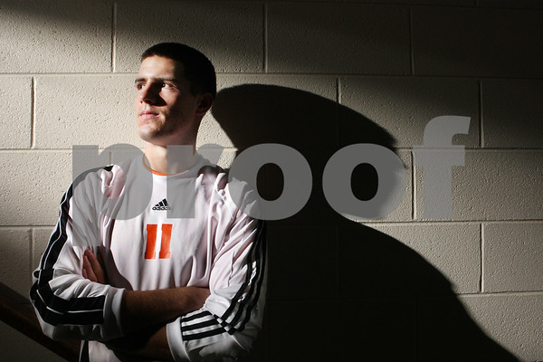 Rob Winner – rwinner@daily-chronicle.com<br /> DeKalb's Jake Johnsen Soccer POY<br /> 11/18/2009