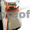 Beck Diefenbach  -  bdiefenbach@daily-chronicle.com<br /> <br /> A second DeKalb snow plow is seen in the side view mirror of Eddie Hernandez's truck while clearing parts of northwest DeKalb, Ill., on Tuesday Dec. 22, 2009.
