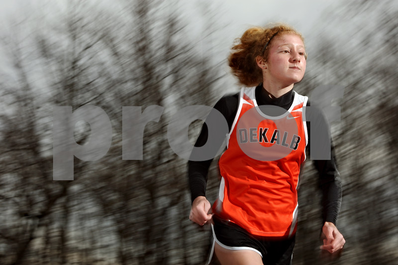 Rob Winner – rwinner@daily-chronicle.com<br /> DeKalb's Danielle Dlabal girls cross country POY<br /> 11/13/2009