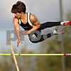 Beck Diefenbach  -  bdiefenbach@daily-chronicle.com<br /> <br /> Kaneland's Logan Markuson competes in the pole vault during the Gib Seegers Track and Field Classic at Sycamore High School in Sycamore, Ill., on Friday May 1, 2009.