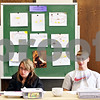 Rob Winner – rwinner@daily-chronicle.com<br /> <br /> Emily Johnson (left), 15, listens as Nick Sarver, 16, explains what faith means to him after a learning exercise at the Church of Jesus Christ of Latter-Day Saints on the morning of Wednesday May 19, 2010 in Sycamore, Ill. Both Johnson and Sarver attend DeKalb High School and meet every morning at the church before heading to school.