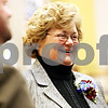 Rob Winner – rwinner@daily-chronicle.com<br /> <br /> DeKalb County Clerk and Recorder Sharon Holmes talks with friends during her retirement part at the Legislative Center in Sycamore on Tuesday afternoon.