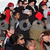 Beck Diefenbach – bdiefenbach@daily-chronicle.com<br /> <br /> Students and mourners wait in line to for their turn to walk along the memorial following the wreath laying on NIU's campus in DeKalb, Ill., on Sunday Feb. 14, 2010.