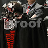 Rob Winner – rwinner@daily-chronicle.com<br /> <br /> Dave Doeren was named the new head coach of the Northern Illinois University Huskies football team during a press conference at the Convocation Center in DeKalb on Monday afternoon.