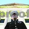 Rob Winner – rwinner@daily-chronicle.com<br /> <br /> On Friday November 5, 2010, veteran Dan Dupre, of DeKalb who served in the United States Marine Corps, stands in front of the DeKalb County Courthouse in Sycamore, Ill. to honor and remember those who gave their lives for our country.