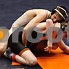 Beck Diefenbach - bdiefenbach@daily-chronicle.com<br /> <br /> Sycamore's Alex Zimmer (top) wrestles against Crystal Lake Central's Chris Maier during the 112 weight class match of the IHSA Class 2A dual team state tournament at the U.S. Cellular Coliseum in Bloomington, Ill., on Saturday Feb. 27, 2010.