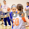 Beck Diefenbach  -  bdiefenbach@daily-chronicle.com<br /> <br /> Genoa-Kingston's Mariah Sartorius during practice at G-K High School in Genoa, Ill., on Monday Jan. 4, 2010.