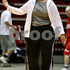 Beck Diefenbach – bdiefenbach@daily-chronicle.com<br /> <br /> Northern Illinois assistant coach Marsha Frese during the team's first practice of the season at NIU's Convocation Center in DeKalb, Ill., on Monday Oct. 4, 2010.