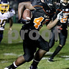 Rob Winner – rwinner@daily-chronicle.com<br /> <br /> Running back Leshun Daniels carries the ball in the first quarter as the Barbs hosted Sterling in DeKalb, Ill. on Friday September 17, 2010.