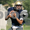 Beck Diefenbach - bdiefenbach@daily-chronicle.com<br /> <br /> Hiawatha's new quarterback Jeo Andujar looks downfield for a pass during practice at Hiawatha High School in Kirkland, Ill., on Thursday Aug. 19, 2010.