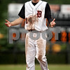 Beck Diefenbach  -  bdiefenbach@daily-chronicle.com<br /> <br /> DeKalb's Frank Petras (14) reacts after the end of the sixth inning which left him on third base during the sixth inning of the game against Kaneland at DeKalb High School in Dekalb, Ill., on Thursday May 20, 2010.