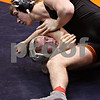 Beck Diefenbach - bdiefenbach@daily-chronicle.com<br /> <br /> Sycamore's Joe Dougherty (bottom) wrestles against Crystal Lake Central's Austin Marsden during the 189 weight class match of the IHSA Class 2A dual team state tournament at the U.S. Cellular Coliseum in Bloomington, Ill., on Saturday Feb. 27, 2010.