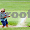 Rob Winner – rwinner@daily-chronicle.com<br /> <br /> Elburn resident Don Polyak hits out of a sand trap on the fifth hole of the Sycamore Golf Club golf course on Friday August 13, 2010 in Sycamore, Ill.