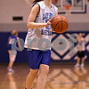 Beck Diefenbach  -  bdiefenbach@daily-chronicle.com<br /> <br /> Hinckley-Big Rock's Alyssa Baunach during practice at H-BR in Hinckley, Ill., on Tuesday Feb. 23, 2010.