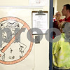 Beck Diefenbach – bdiefenbach@daily-chronicle.com<br /> <br /> An anti-bullying poster hangs in a seventh grade math classroom at Clinton Rosette Middle School in DeKalb, Ill., on Wednesday Sept. 15, 2010.