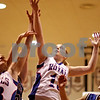 Beck Diefenbach – bdiefenbach@daily-chronicle.com<br /> <br /> Hinckley-Big Rock's Jes Meyer reaches for the rebound during the first quarter of the IHSA Class 1A Regional playoff game against Westminster at Indian Creek High School in Shabbona, Ill., on Wednesday Feb. 10, 2010.