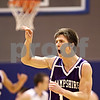 Beck Diefenbach  -  bdiefenbach@daily-chronicle.com<br /> <br /> Hampshire's Justin Bieber (12) reacts after scoring a three-point shot to take the lead over Genoa-Kingston during the fourth quarter of the game at Genoa-Kingston High School in Genoa, Ill., on Monday Jan. 11, 2009. Hampshire defeated G-K 57 to 52.