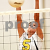 Beck Diefenbach – bdiefenbach@daily-chronicle.com<br /> <br /> Sycamore Kaitlyn Roach (5) blocks a shot during the first game against Kaneland at Kaneland High School in Maple Park, Ill., on Tuesday Sept. 21, 2010.