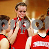 Kyle Bursaw – kbursaw@daily-chronicle.com<br /> <br /> Indian Creek's Cameron Wallace reacts after the Timberwolves falls to Morgan Park Academy IHSA Class 1A Somonauk sectional semifinals match.