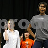 Beck Diefenbach  -  bdiefenbach@daily-chronicle.com<br /> <br /> DeKalb High School junior Alex Wade (far right) leads Enharmonic Fusion as its soloist during rehearsal at DeKalb High School in DeKalb, Ill., on Tuesday April 6, 2010. The new a cappella group with be performing next at First Lutheran Church in DeKalb on Sunday April 11, 2010, at 5:00 P.M.