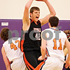 Beck Diefenbach - bdiefenbach@daily-chronicle.com<br /> <br /> DeKalb's Jordan Threloff reacts after grabbing a rebound during the fourth quarter of the sectional championship game against Oswego at Hampshire High School in Hampshire, Ill., on Friday March 12, 2010. Oswego defeated DeKalb 57 to 51, ending the Barb's season.