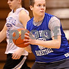 Beck Diefenbach  -  bdiefenbach@daily-chronicle.com<br /> <br /> Hinckley-Big Rock XXXXX practices with the girls basketball team as they prepare for the state tournament during practice at H-BR in Hinckley, Ill., on Tuesday Feb. 23, 2010.