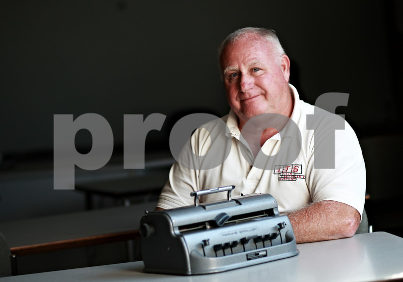 Beck Diefenbach – bdiefenbach@daily-chronicle.com<br /> <br /> Ron Clarner, 63, fixes Braille machines for Northern Illinois University.