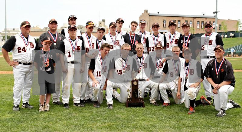 Rob Winner – rwinner@daily-chronicle.com<br /> <br /> The DeKalb Barbs baseball team of 2010.