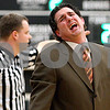 Rob Winner – rwinner@daily-chronicle.com<br /> Sycamore coach Jeff Hilmer reacts after a call by the officials during the first half of their game against Kaneland in Maple Park, Ill. on Saturday February 6, 2010.