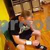 Beck Diefenbach  -  bdiefenbach@daily-chronicle.com<br /> <br /> Kyle Culton takes a break during practice at Sycamore High School on Monday June 28, 2010. Culton and his brother Austin will be competing in the wrestling nationals in Fargo, North Dakota on July 19.