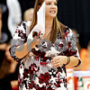 Beck Diefenbach – bdiefenbach@daily-chronicle.com<br /> <br /> DeKalb head coach Stephanie Gooden calls out to her players during the first game of the match against Sycamore at Victor E. Court in the Convocation Center on the campus of Northern Illinois University in DeKalb, Ill., on Tuesday Sept. 14, 2010. DeKalb defeated Sycamore 2 to 1.