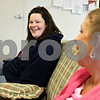 Rob Winner – rwinner@daily-chronicle.com<br /> Sarah Varela (left) and Susan Ousen spend time chatting in a communtiy room at Hope Haven in DeKalb, Ill. on Friday January 15, 2010.
