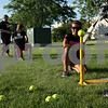 Beck Diefenbach  -  bdiefenbach@daily-chronicle.com<br /> <br /> Sabrina Kileen stands by as teammates swing during batting practice at Kishwuakee Community College in Malta, Ill., on Tuesday June 22, 2010.