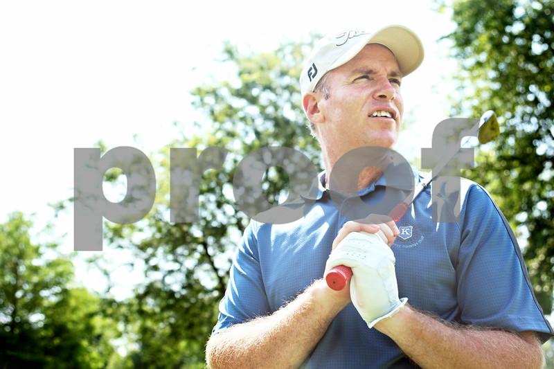 Rob Winner – rwinner@daily-chronicle.com<br /> <br /> David Paeglow at Kishwaukee Country Club in DeKalb, Ill. on Wednesday July 7, 2010.