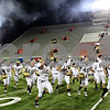 Beck Diefenbach – bdiefenbach@daily-chronicle.com<br /> <br /> Having won the Caste Challenge trophy, the Sycamore football team runs to their fans following the game between DeKalb and Sycamore High Schools at Huskie Stadium on the campus of Northern Illinois University in DeKalb, Ill., on Friday Sept. 10 2010.