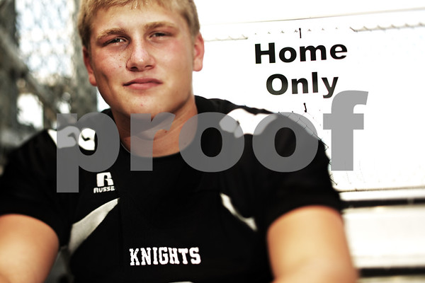 Beck Diefenbach - bdiefenbach@daily-chronicle.com<br /> <br /> Kaneland High School football player Blake Serpa