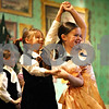"Rob Winner – rwinner@daily-chronicle.com<br /> <br /> The Northern Illinois University School of Theatre and Dance students are putting on ""The Nutcracker"" at the Egyptian Theatre this week. At the Egyptian Theatre in DeKalb, Kylie Scantlin (left), 7 of Kingston, and Brynn Burke, 7 of Sycamore, dance on stage during rehearsal on Monday night."