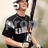 Beck Diefenbach  -  bdiefenbach@daily-chronicle.com<br /> <br /> Kaneland's Kyle Davidson (26) reacts after striking out during the second inning of the game against DeKalb at DeKalb High School in Dekalb, Ill., on Thursday May 20, 2010.