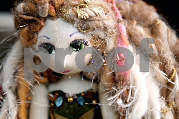 Rob Winner – rwinner@daily-chronicle.com<br /> A doll made of wool rests on a shelf at Esther's Place in Big Rock, Ill. on Thursday February 25, 2010.