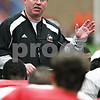 Chronicle File Photo<br /> <br /> Northern Illinois head coach Jerry Kill during practice at the DeKalb Recreation Center in DeKalb, Ill., on Friday Dec. 12, 2009.