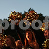 Beck Diefenbach – bdiefenbach@daily-chronicle.com<br /> <br /> Sycamore High School student Taylor Gross cheers with the rest of her squad during the Sycamore Homecoming parade in Sycamore, Ill., on Wednesday September 29, 2010.