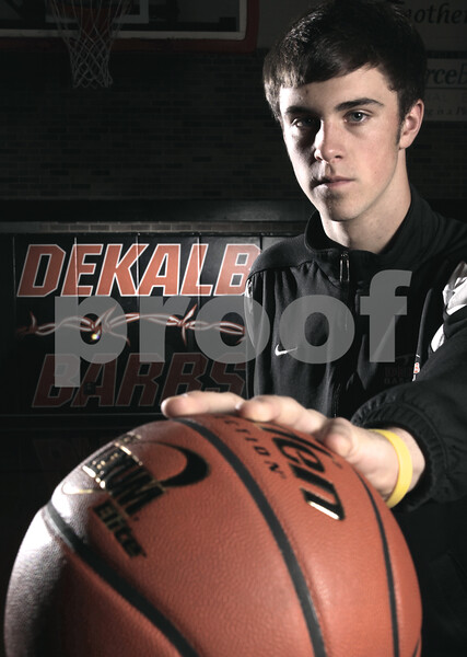 Kyle Bursaw - kbursaw@daily-chronicle.com<br /> <br /> DeKalb's Brian Sisler is one of the Daily Chronicle's players to watch in 2010.<br /> 11/05/10