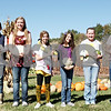 (From left to right) Ashlynn Carlson, 14, Carissa Goetz, 13, Halle Boddy, 13, Ashley Curtin, 11, Emma Olson, 12, and Awad Rana, 12