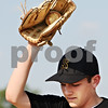 Beck Diefenbach  -  bdiefenbach@daily-chronicle.com<br /> <br /> Sycamore's Jake Dugger during bunting practice at Sycamore High School in Sycamore, Ill., on Monday May 24, 2010.