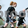Rob Winner – rwinner@daily-chronicle.com<br /> <br /> Danielle Dlabal (17) celebrates with her teammates after scoring DeKalb's third goal in the first half of their game against Yorkville on Saturday April 17, 2010 in DeKalb, Ill. for Barbfest.